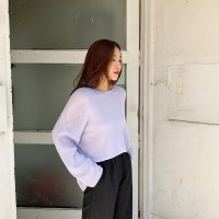 Sugar round-neck knit_K_(1345883)