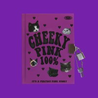 SECRET HARD COVER NOTE_CHEEKY PINK