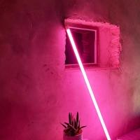 [인테리어조명]  LED 네온폴 무드등