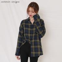 [커먼유니크] 울트라 체크 셔츠_박신혜, 송지효 착용