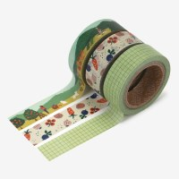 Masking tape 3p set - 03 Little forest