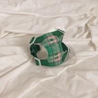 [이름 각인] Soft check harness (green)