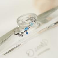 블루 레인 반지