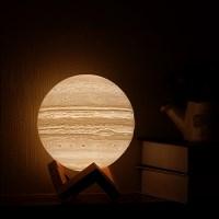 3D입체 주피터 LED 충전식 목성 달 행성 무드등 조명