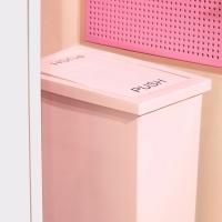 슬림스윙 휴지통 핑크에디션 8L