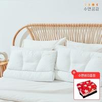 수면공감 우유베개 라텍스 기능성 경추 베개_(1203277)