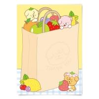 [또자] 과일가게 댕댕 메모지