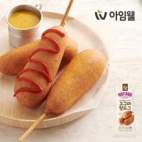 [아임웰] 닭가슴살 소시지 고구마 핫도그 5팩