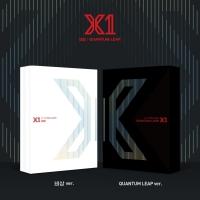 2종세트/초도포스터/ X1 엑스원 - 데뷔앨범 [비상 QUANTUM LEAP]