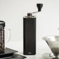 [하리오] 알루미늄 합금 커피밀 프리즘 블랙