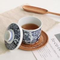 일본 수묵 자왕무시 (컵+뚜껑 세트)