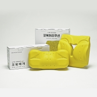 24시간 바른자세 케어세트 [꼬북베개+꼬북허리쿠션]