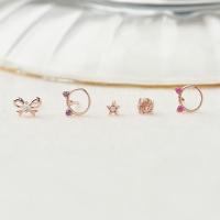 [SET] 캣 귀걸이 + 심플 귀걸이