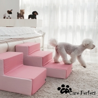 강아지계단 슬개골 침대 발판 2단 3단 클리니스