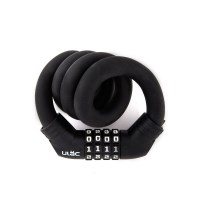 ULac 실리콘메모리락 자전거 자물쇠 (번호형 블랙)_(1083488)