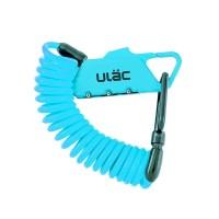ULac 카라비너 스프링락 자전거 자물쇠 (블루)_(1083486)