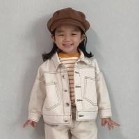 엔) 러버 아동 면자켓