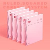 스프링북 - 로즈쿼츠 (룰드/스퀘어드/코넬시스템) 5EA