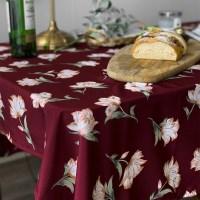 버건디로즈 식탁보 테이블보 2size 테이블러너