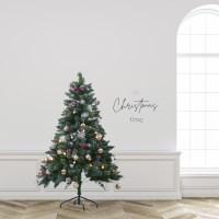 크리스마스 트리 비앙코 스노우 로즈골드 오너먼트 세트_(2159402)