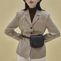 Kate 2way mini bag_snake black