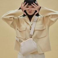 [4/17일 예약배송] Olsen frame mini bag_ivory