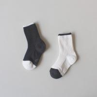 [꼬까참새] ANKLE_Black & White
