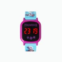 겨울왕국2 키즈 LED 손목시계 (블루,틴박스)