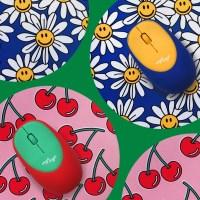 [위글위글] 말랑무선마우스&패드 SET_(1461477)