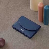 FENNEC HALFMOON ACCORDION POCKET - DUSTY BLUE