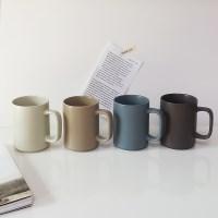 레트로 무광 카페 머그컵(350ml) 집들이선물