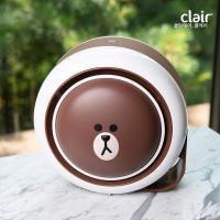 [클레어] 라인프렌즈 브라운 탁상용 공기청정기