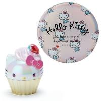 헬로키티/마이멜로디 컵케익 립밤&거울 세트