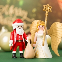[단독판매] 플레이모빌 산타클로스와 크리스마스 천사(9498)