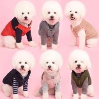 어썸키즈 강아지 패딩조끼 중형견옷 대형견겨울옷