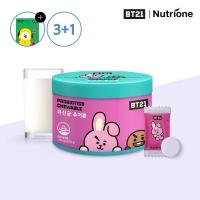 [뉴트리원] 3+1 BT21 유산균 츄어블 1500mg x 60정 /밀크맛