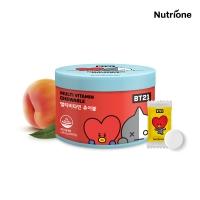 [뉴트리원] 4+1 BT21 멀티비타민 츄어블 1500mg x 60정 /복숭아맛