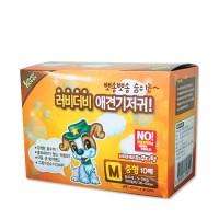 러비더비 애견 기저귀 M 중형 강아지 생리대 애견패드_(825147)