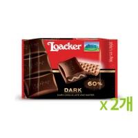 로아커 초콜릿 클래식 다크 50g 2개묶음_(887003)