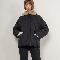 Dana Quilted Padding Jacket_Black_(34174)