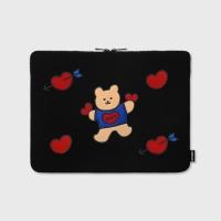 [3/27순차배송]Bear heart-13inch notebook pouch
