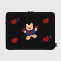 Bear heart-15inch notebook pouch(15