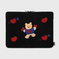 Bear heart(15인치 노트북 파우치)
