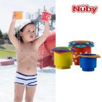 누비 아기목욕장난감 컵쌓기 놀이/물놀이장난감_(2374887)