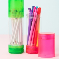 [Octotatsu] pen case Neon Limited (4 color)