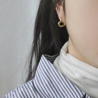 Heart O earring