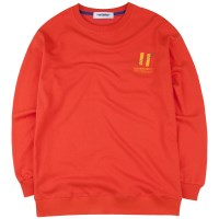 [COVERMENT] Signature Graphic Over-Fit Swatshirts_Orange
