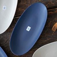 조이엘로 긴타원접시(색상선택) / 플레이팅 카페 접시 그릇