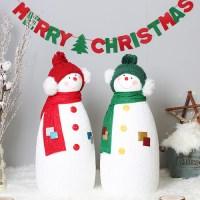 [데코봉봉]크리스마스 친구 눈사람 2P세트(L)