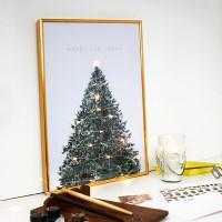 크리스마스 트리 장식 포스터 vol.1(크리스마스 트리)
